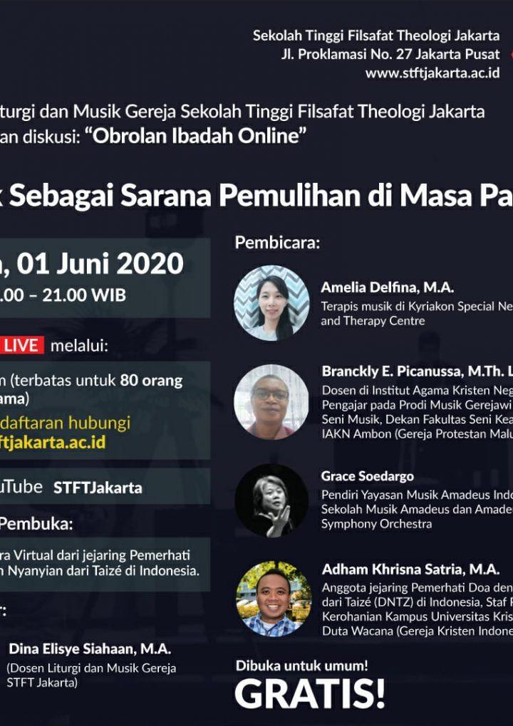 """Diskusi: """"Obrolan Ibadah Online"""""""