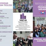 Penerimaan Mahasiswa Baru Program Studi Sarjana Sains Teologi S1 TA 2020/2021 – Gelombang II