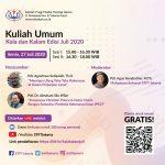 Kuliah Umum: Kala dan Kalam Edisi Juli 2020