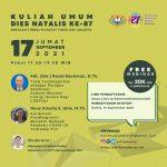 Kuliah Umum Dies Natalis ke-87 STFT Jakarta: Sesi 17 September 2021